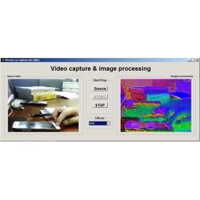 پروژه رابط کاربری برای ضبط ویدیو و پردازش تصویر در MATLAB