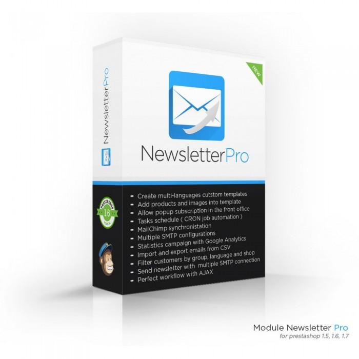 ماژول های بخش مدیریت پرستاشاپ ماژول ارسال ایمیل به مشتریان پیشرفته پرستاشاپ