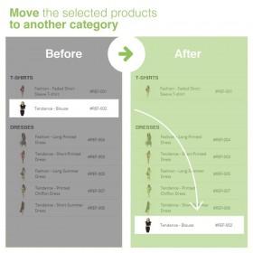 ماژول ویرایش دسته بندی و تخصیص محصولات به سایر دسته بندی های موجود در پرستاشاپ