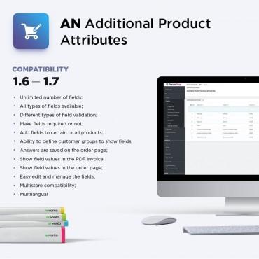 ماژول افزودن ویژگی / فیلد اضافی اجباری در صفحه محصول برای شخصی سازی سفارشات پرستاشاپ