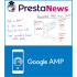 ماژول های سئو و بهینه سازی پرستاشاپ ماژول ایجاد نسخه موبایلی AMP بسیار سریع در پرستاشاپ