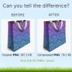 ماژول قدرتمند فشرده سازی بدون افت کیفیت تصاویر PNG و JPG پرستاشاپ