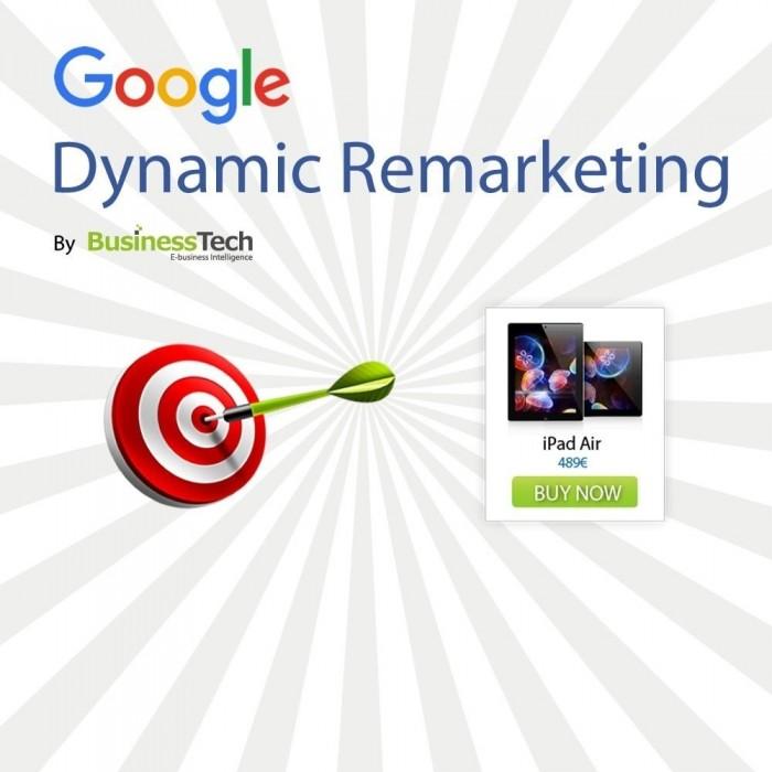 ماژول بازاریابی مجدد دینامیکی و تگ های تبلیغاتی گوگل