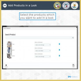 ماژول فروش ضربدری محصولات مرتبط به صورت لوک بوک