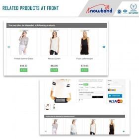 ماژول درج خودکار محصولات مرتبط پرستاشاپ