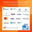 ماژول پرداخت در یک صفحه پرستاشاپ کاری از شرکت ETS-Soft