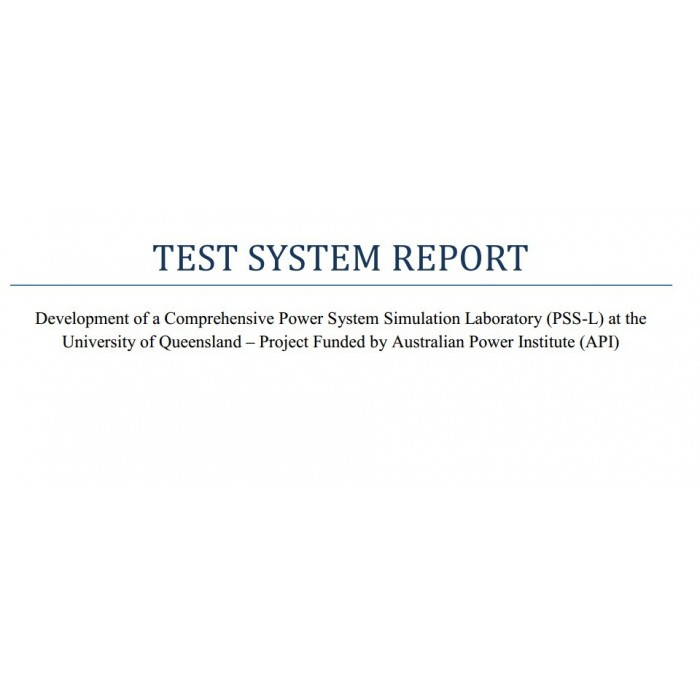 test system reports