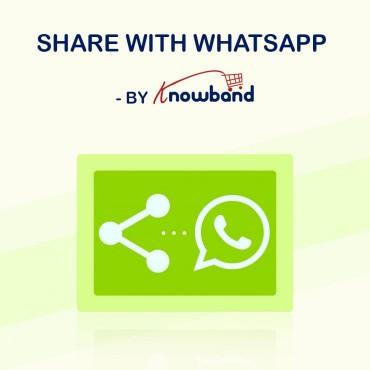 ماژول اشتراک گذاری محصولات با مشتریان در واتساپ