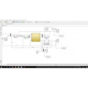 شبیه سازی تمامی ماشین های الکتریکی در محیط سیمولینک متلب