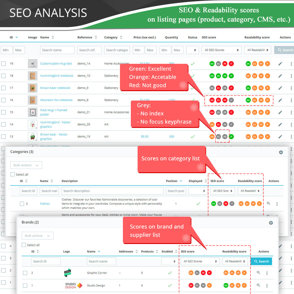 SEO Audit - Best SEO practices 2020 - Incredibly good Module
